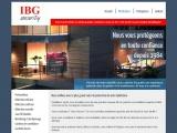 Site internet : IBG Security