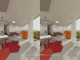 Virtual tour with VR headset